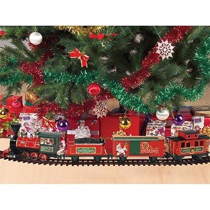 Santa's North Pole Express Christmas Train 27 Piece Train Set - Amazon.com: Santa's North Pole Express Christmas Train 27 Piece