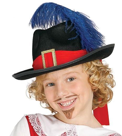 961ce5c310e2c Guirca - Sombrero de mosquetero de fieltro