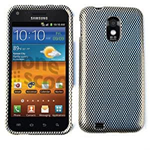 CELL PHONE CASE COVER FOR SAMSUNG EPIC 4G TOUCH GALAXY S II D710 CARBON FIBER by mcsharks