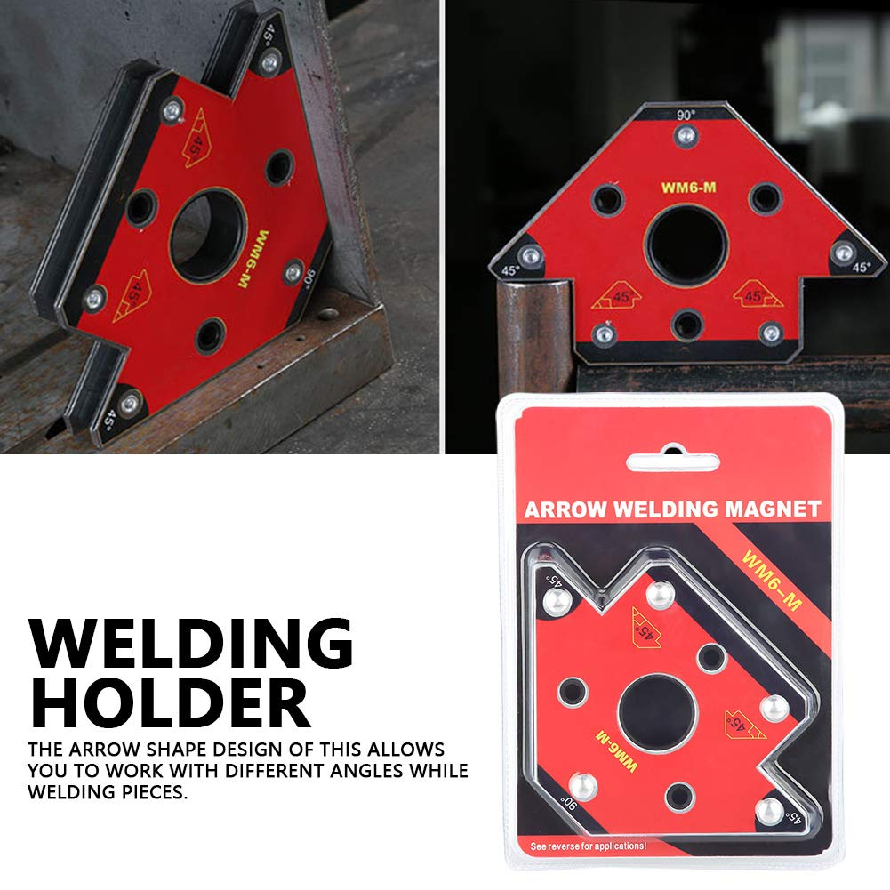 Arrow Soldering Locator Corner Welding Magnetic Holder Corner Welding Magnets Mig Welder Tool Welding Clamps Welding Magnet 45//90//135 Degree Magnetic Welding Holder