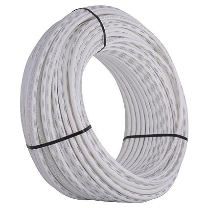 SharkBite PEX Pipe Tubing 1/2 Inch, White, Flexible Water Tube, Potable  Water, U860W500, 500 Foot Coil