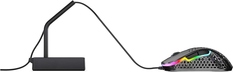 kompakt und praktisch stabile Basis schwarz Xtrfy XG-B4-BLACK Maus-Bungee Flexibler Silikon-Arm rutschfeste Gummiunterseite
