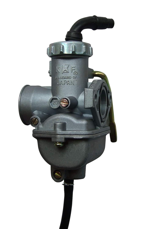 shamofeng PZ20 Carburador de Mano para ATV TaoTao NST SunL Kazuma Baja 50 CC 70 CC 90 CC 110 CC 125 CC