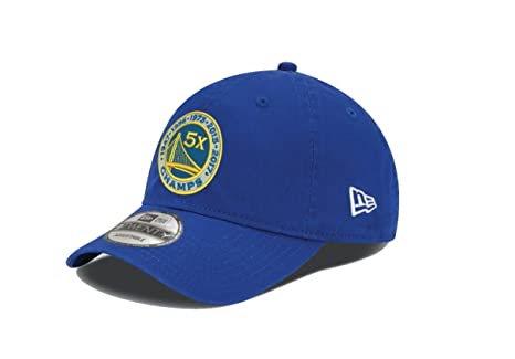 Image Unavailable. Image not available for. Color  New Era Golden State  Warriors 9TWENTY 2017 NBA Finals 5X Champions Adjustable Hat Cap 019f35268dc