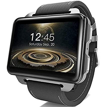 BUYYO LEMFO LEM4 PRO 3G Smart Watch Phone, 2.2 Inch Big Screen Android, 1.3MP Camera, MT6580 Quad Core 1.3Ghz 1GB RAM 16GB ROM, GPS/Heart Rate ...