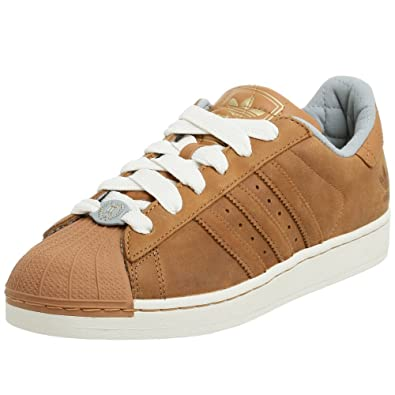 adidas Superstar II TL Cuir Baskets – Havane - Marron - Marron, 54 2/