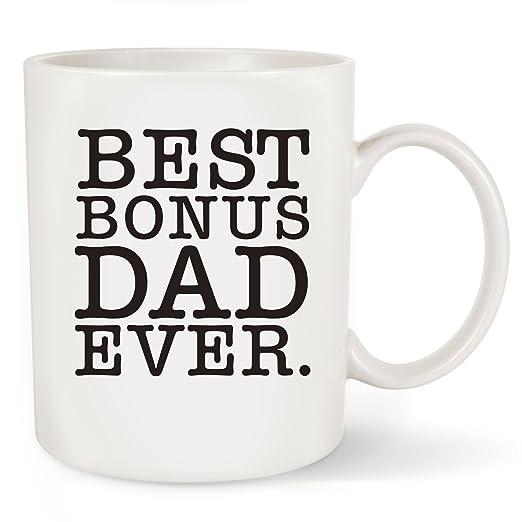 Amazon.com: Regalo del día del padre mejor bono Dad Ever ...