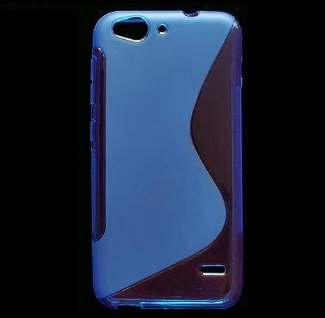 Carcasa flixigel Funda s-line antigolpe tpu silicona gel zte blade s6 Azul