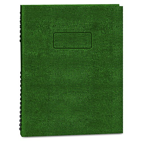 - BLUELINE EcoLogix 100% Recycled  NotePro Notebook, Green, 11 x 8.5