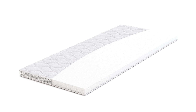 AmazonBasics - Sobrecolchón, espuma de alta resistencia, semi firme H3 - 160 x 190 cm: Amazon.es: Hogar