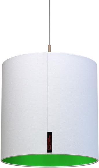 Studio Zapp riani Crick etb30h30 a, pantalla de lámpara techo techo, textura, 60 W, E27, color blanco, 30 x 30 cm: Amazon.es: Iluminación