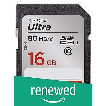 Amazon.com: SanDisk Ultra SDXC UHS-I tarjeta de memoria de ...