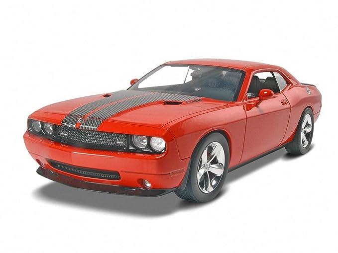 Amazon Com Revell 1 25 09 Dodge Challenger Toys Games
