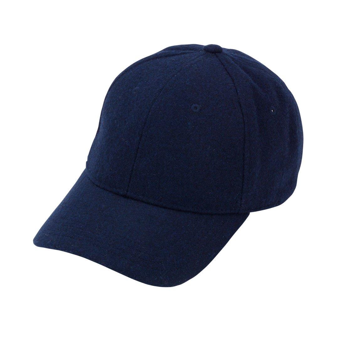 Wholesale Boutique Wool Blend Cap Navy ACLNY 812575025551