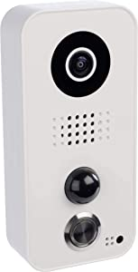 DoorBird Video Door Station D101,Polycarbonate Housing, White Edition, POE WiFi