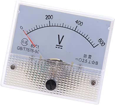 DC 0-150A Rectangle Analog Panel Current Meter Ammeter Gauge