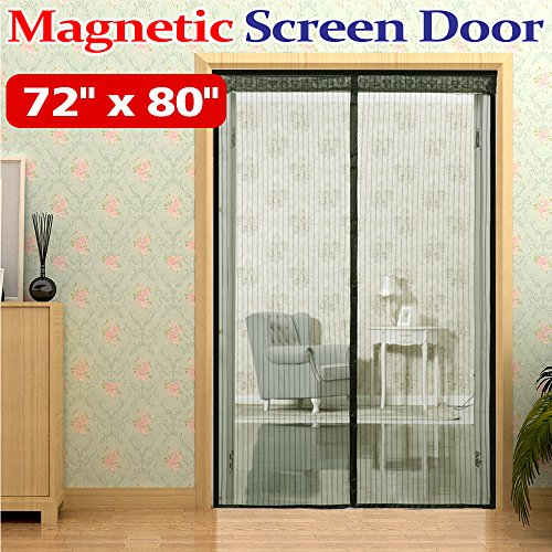 mkicesky-72w-x-80h-hands-free-magnetic-screen-door-for-french-doorsfull-frame-velcro-bug-mesh-curtai