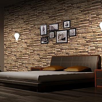 Wandplatten küche  PVC 3D Wandplatte 980x498mm Küche Bad Diele Deko Mosaik ...