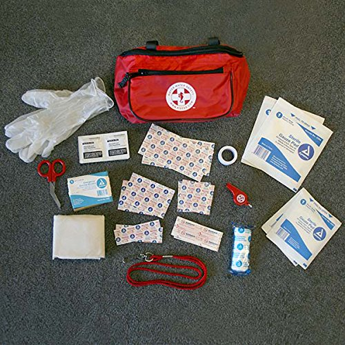 Kiefer First Responder Kit, Red Fanny Pack
