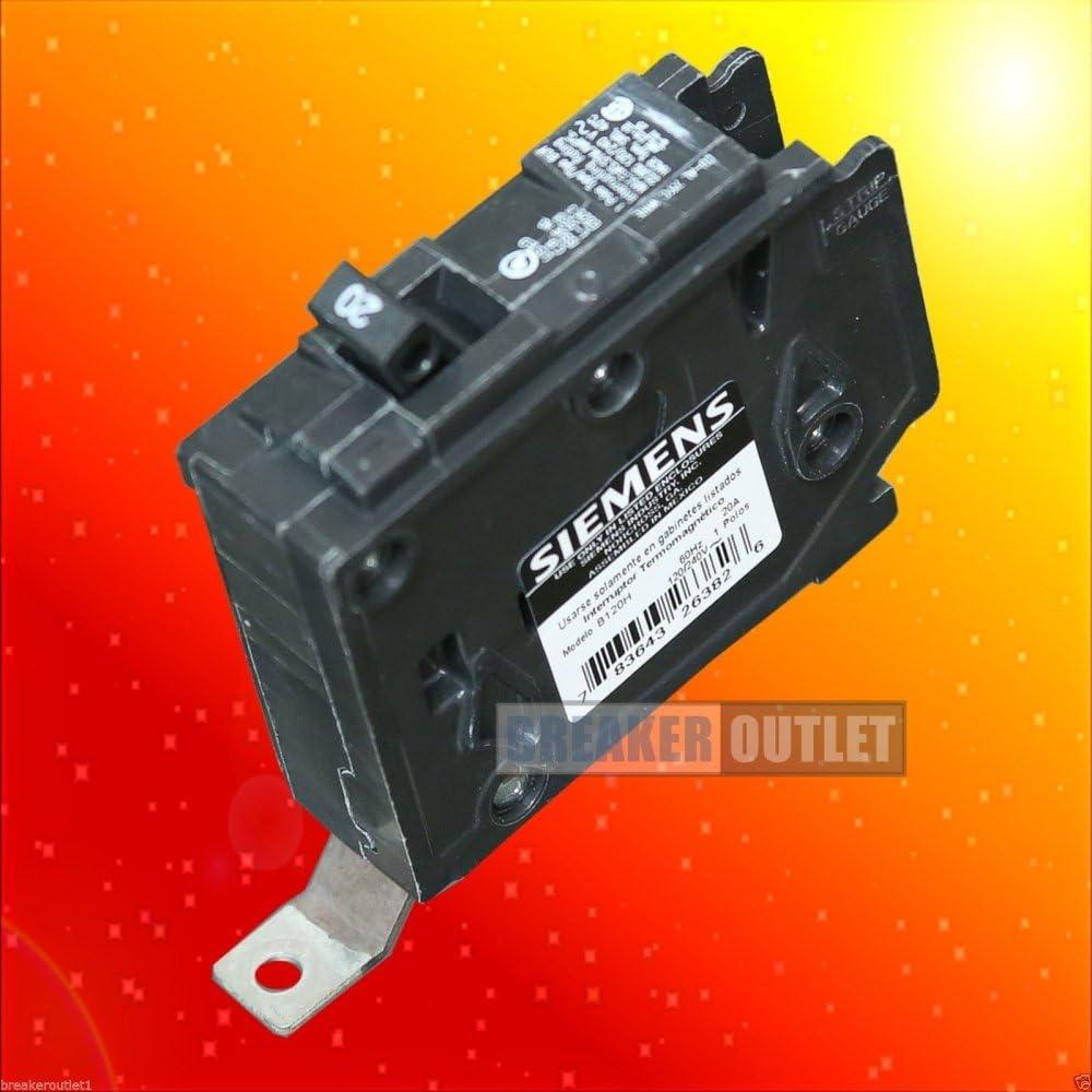 ITE Siemens BLH B120H 1 pole 20 amp 240V Circuit Breaker