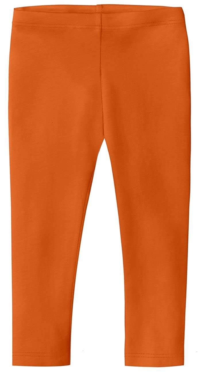 City Threads Girls 100/% Cotton Capri Crop Summer Leggings for School Play