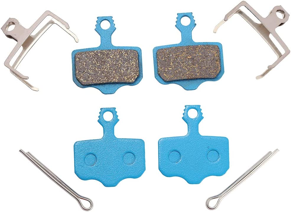 High Performance Disc Brake Pads Harz,Semi-Metall, Multi-Metall,Sintermetall SARM XO XX WC DB1 DB3 DB5 Icreopro 2 Paare Fahrrad Scheiben-Bremsen f/ür Avid Elixir 1,3,5,7,9,R,CR,ER