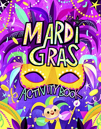 Mardi Gras Activity Book