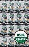 Kim s Premium Organic Seaweed (Nori) Snack 16 Pack. Roasted, Sea Salt, 100% USDA Certified, No MSG, Low Calorie