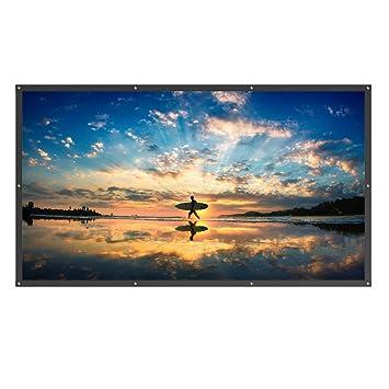 Amazon.com: TaoTronics Pantalla de proyector de 120 pulgadas ...