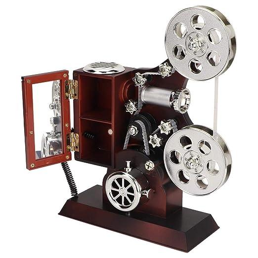 Wifehelper Cajas de música, Vintage Grabado Proyector Caja de ...