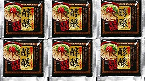 Japanese Noodles Tonkotsu Ramen Concentration Pork Bone Soup 6 Packs by Nanami Foods