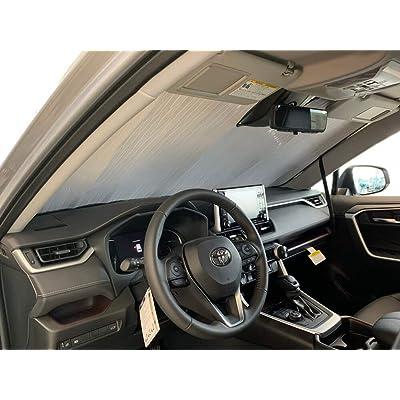 HeatShield, The Original Windshield Sun Shade, Custom-Fit for Toyota RAV4 SUV 2020, 2020, Silver Series: Automotive