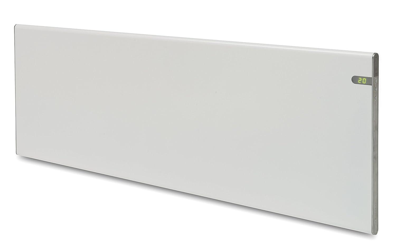 Bendex LUX Radiador eléctrico blanco, bajo consumo 1400 W, IP24 para baño, combinación de soporte pared y de suelo intergrado, pantalla digital LED, ...