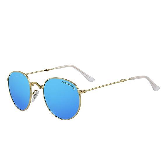 beaf2a9333ab1 MERRY S - Lunettes de soleil - Homme - bleu -  Amazon.fr  Vêtements ...