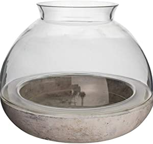 Syndicate Sales Mixed Material Terrarium, Large