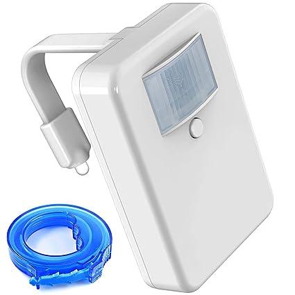 FineGood 16 Colores LED WC luz Nocturna Activados por Movimiento Oscuridad Sensible a la Luz de