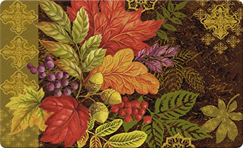 Toland Home Garden Changing Colors 18 x 30 Inch Decorative Floor Mat Seasonal Leaf Fall Autumn Leaves Doormat