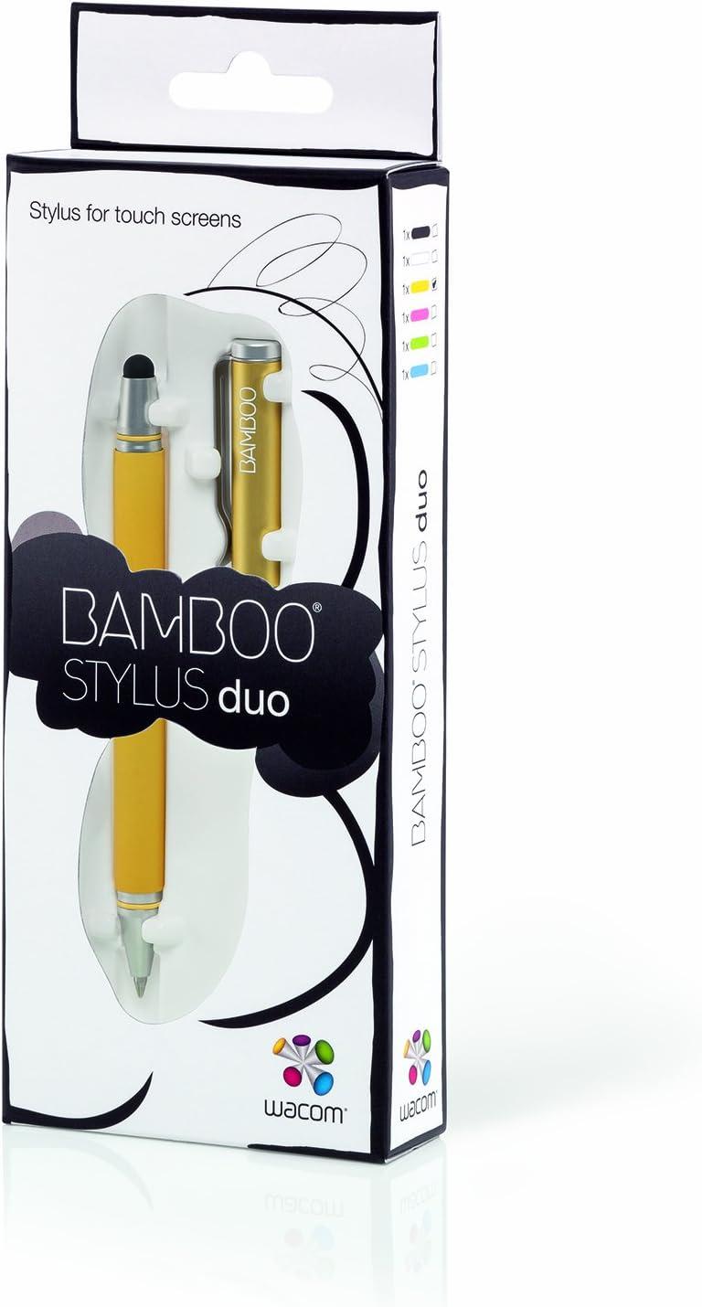 Wacom Bamboo Stylus Duo Cs 150y Eingabestift Gelb Computer Zubehör