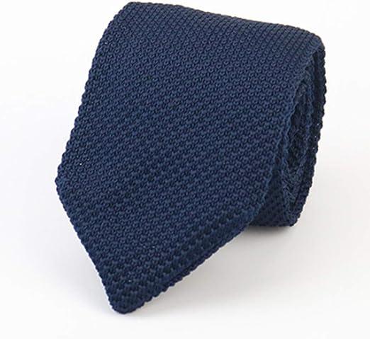 HYhy - Corbata de Punto para Hombre, Ajustada, Tejida, Casual ...