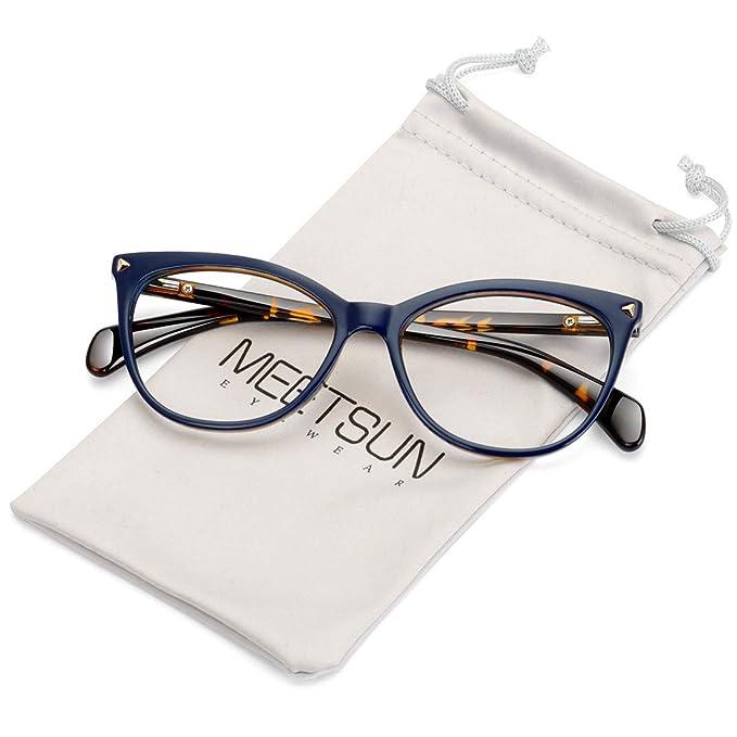 Amazon.com: MEETSUN - Gafas de sol sin receta para mujer ...