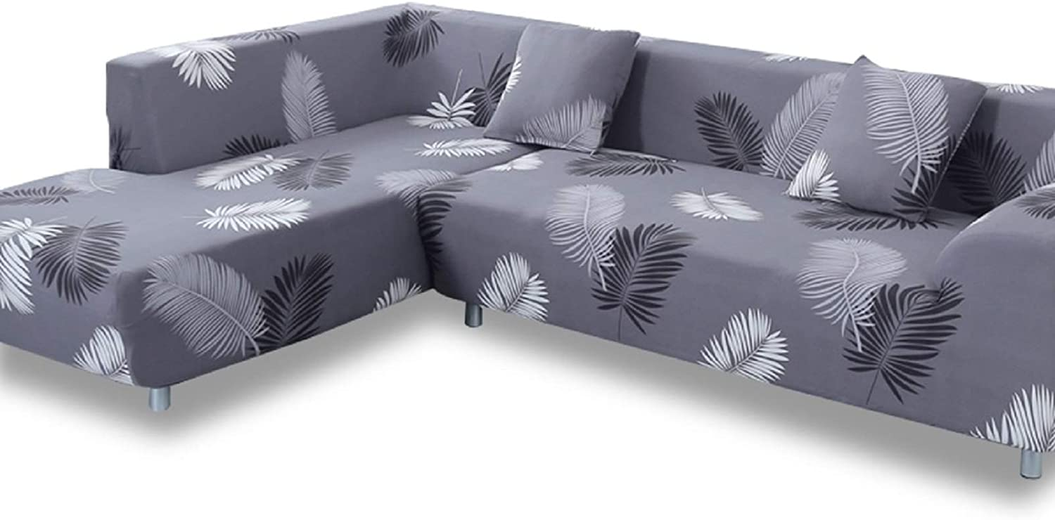 L Shape Sofa Cover Stretch Living Room Sectional Sofas Couch Covers Slipcover