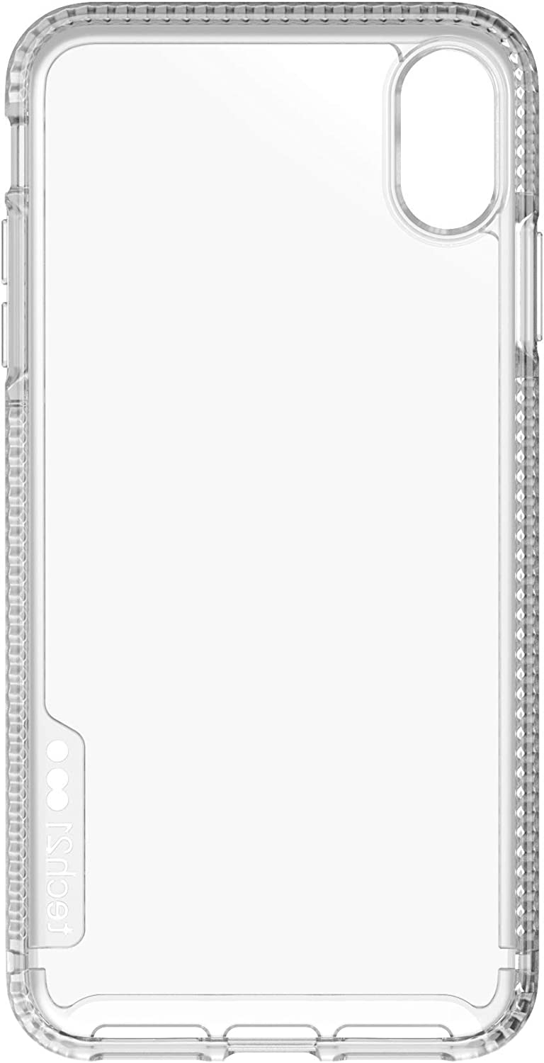 tech21 Protective Ultra Thin Pure Clear Back Case Cover for Apple iPhone Xs Max, Clear