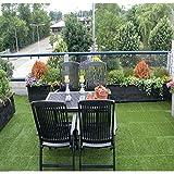 QYH Artificial Grass Tile Interlocking Floor
