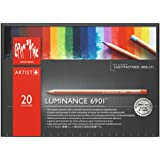 Caran D'ache Artist Luminance Colored Pencil Set of 20 (6901.720 ) at amazon