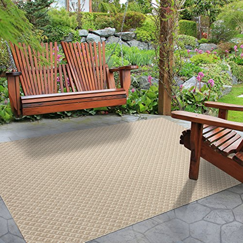 Balta Rugs 39413636.160225.1 Desoto Beige Indoor/Outdoor Area Rug, 5' x (Inspiration Sisal Rug)