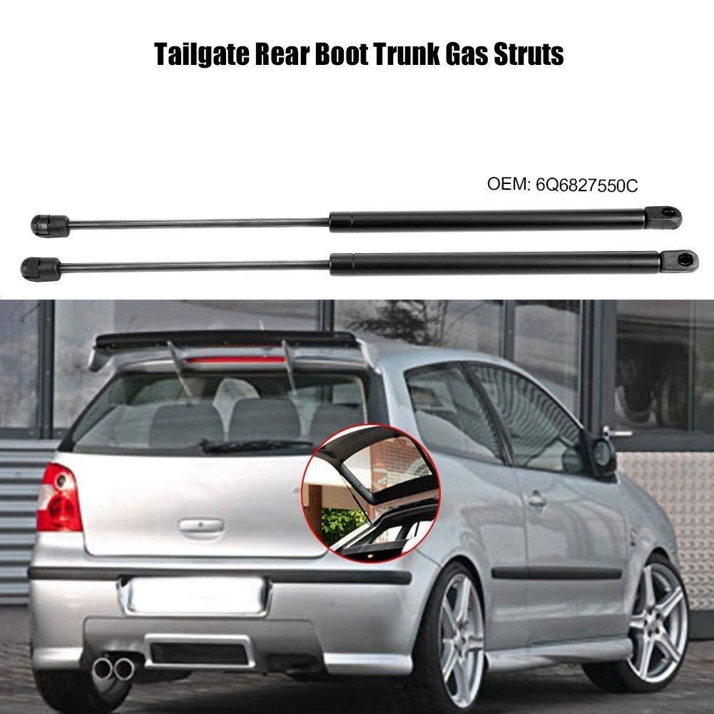 tronco Gas Struts 2pcs port/ón trasero 6Q6827550C arranque tronco Gas Struts Tronco de gas puntales de arranque