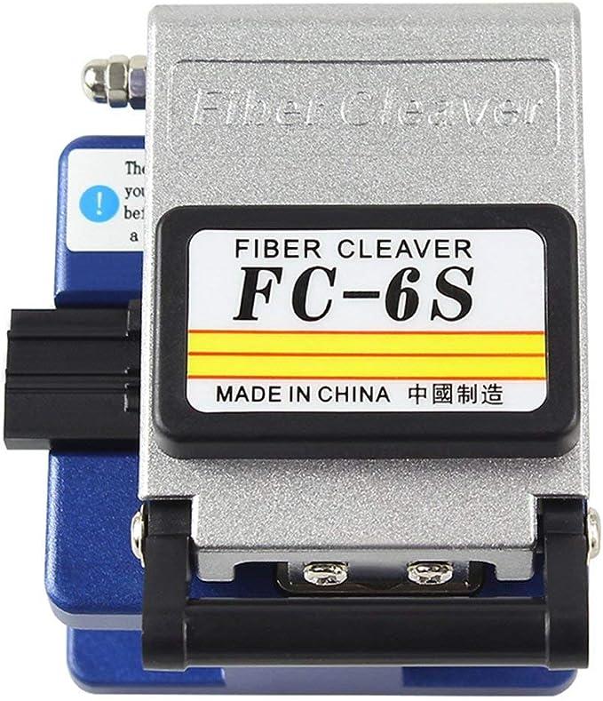DAXGD Conector óptico de la cuchilla de la fibra Cuchillo de la fibra óptica FC-6S Material del metal: Amazon.es: Bricolaje y herramientas