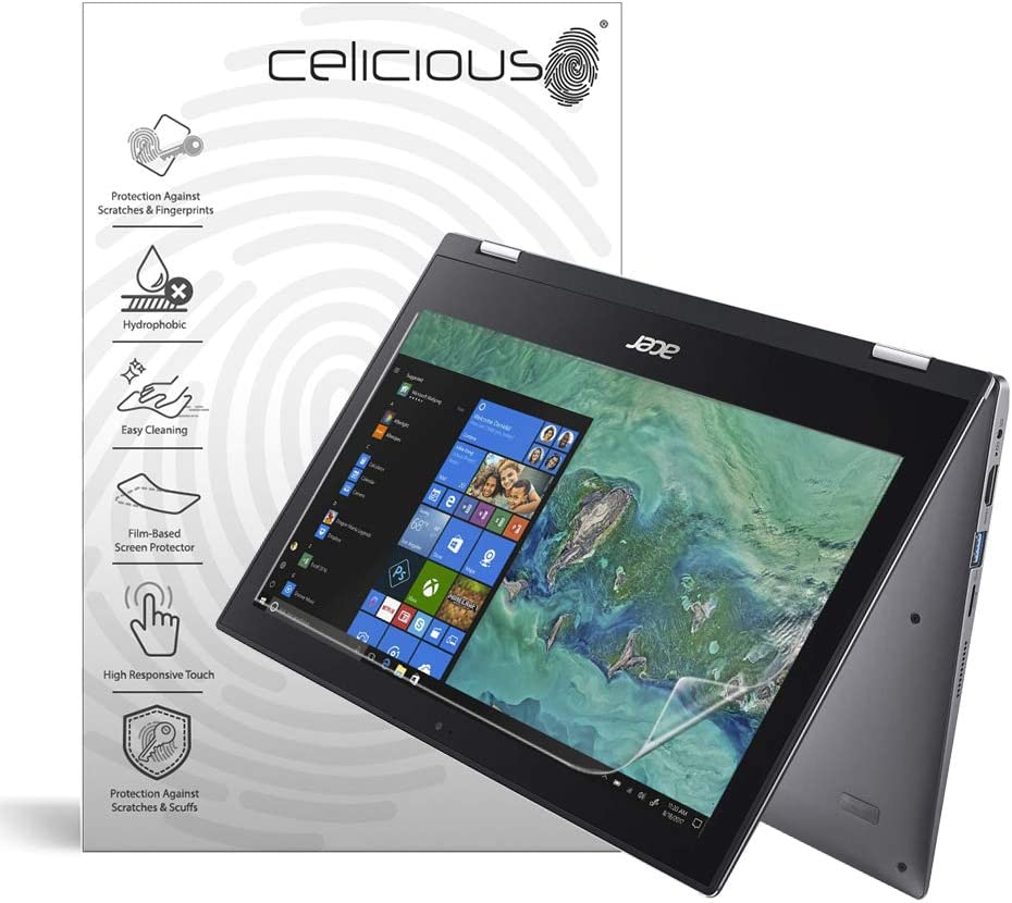 Celicious Impact Anti-Shock Shatterproof Screen Protector Film Compatible with Acer Spin 1 SP111-33