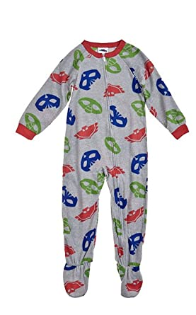edbb68fd85 Image Unavailable. Image not available for. Color  Boy s Toddler 3T PJ  Masks Print Fleece Footed Blanket Pajama Sleeper