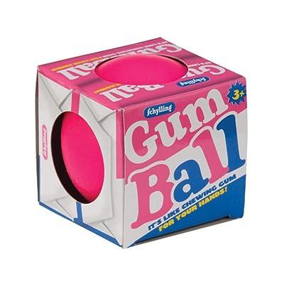 Schylling Gum Ball Stress Ball: Toys & Games